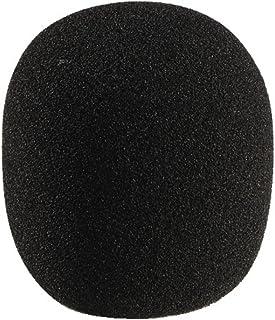 MONACOR WS-60 microfoon-windbescherming voor microfoons zwart, 23.2610