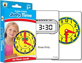 Judy Time Flash Cards, Ages 5-11