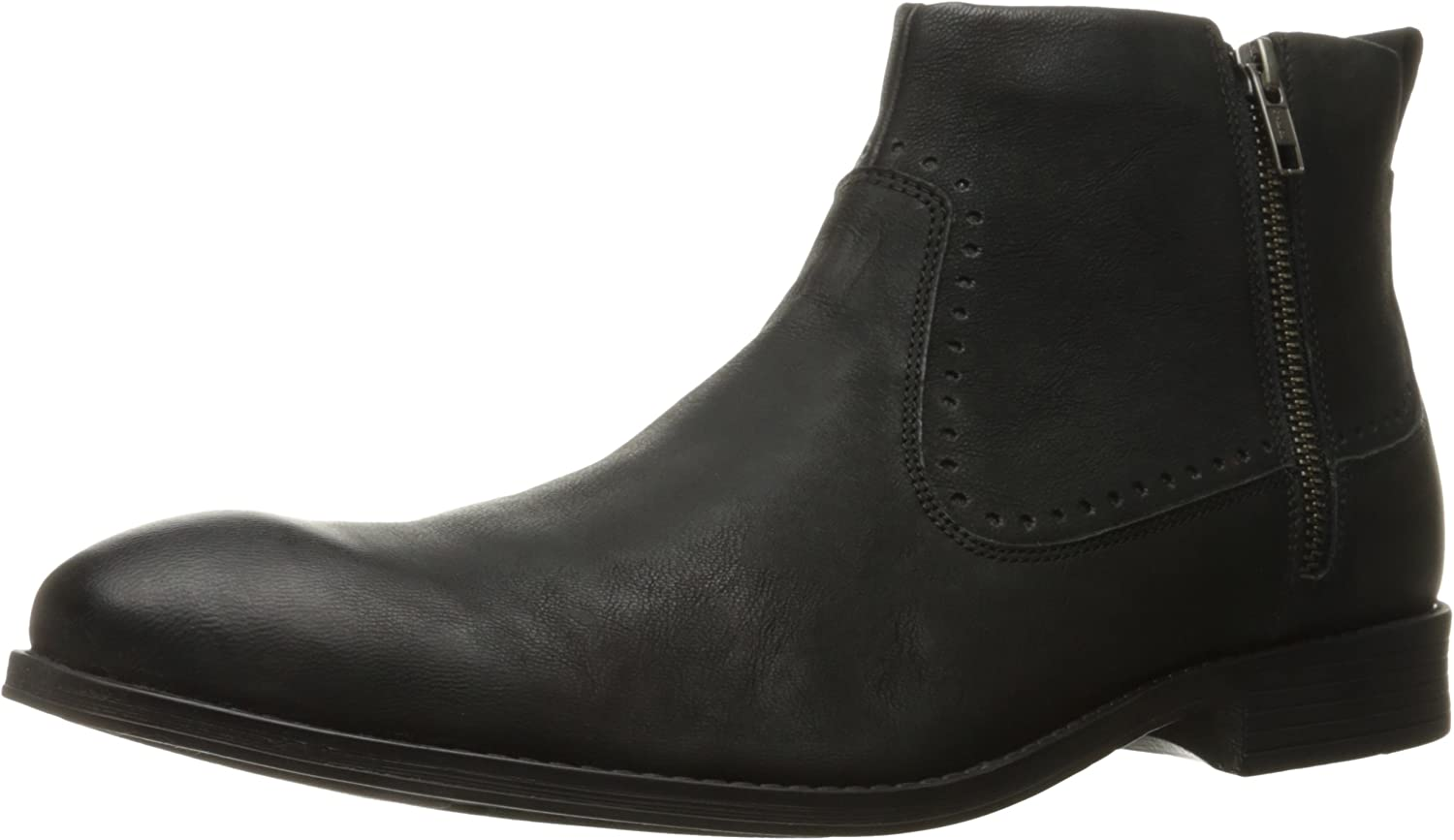 STACY ADAMS Men's Remington Plain Toe Zipper Chelsea Boot, Black, 9 M US B005BHI1YO  | Starke Hitze- und Abnutzungsbeständigkeit