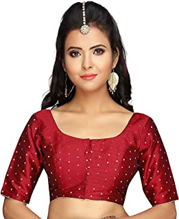 f24cf87f01c Amazon.in: Silk - Blouses / Ethnic Wear: Clothing & Accessories