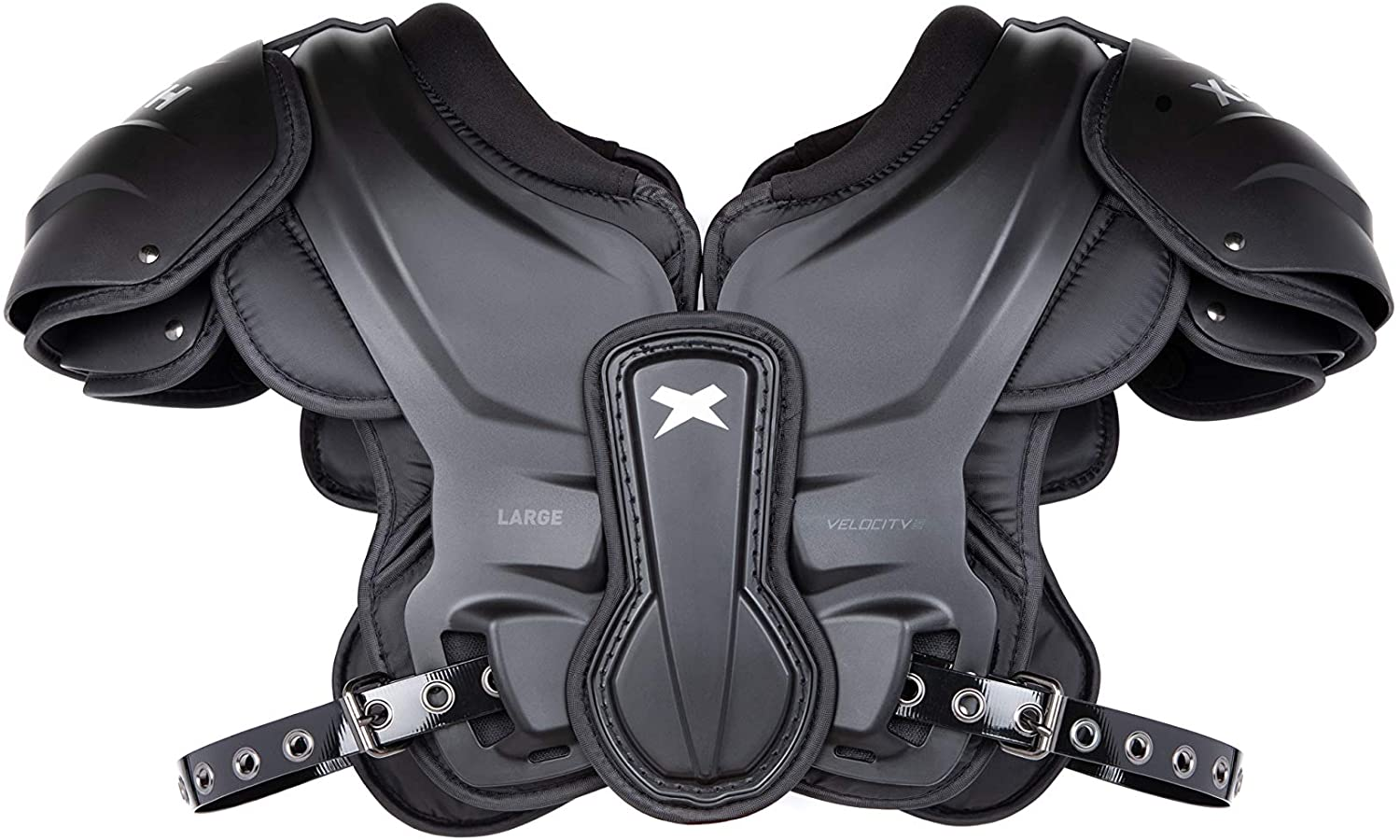 Xenith Velocity Varsity Football Shoulder Pads for Adults - All Purpose Protective Gear : Sports & Outdoors