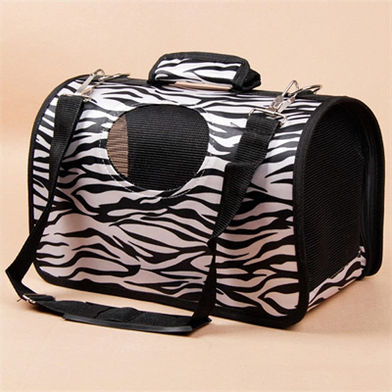 LIYONG Pet Carrying Bag Out Of The Cat Cage Portable Pet Backpack Pet Carrying Bag (color    5, Size   M 40x21x26cm)