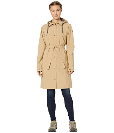 Columbia Here and Theretm Long Trench Jacket (Beach) Women