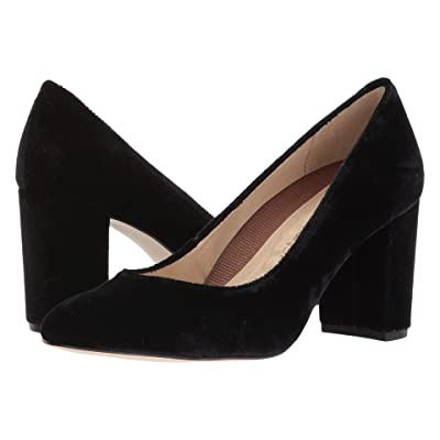 Walking Cradles Matisse (Black Velvet) High Heels