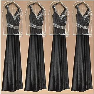 Angelato Wholesale Transparent Wedding Dress Half Small Dust Cover Omniseal Waterproof Wedding Garment Bag