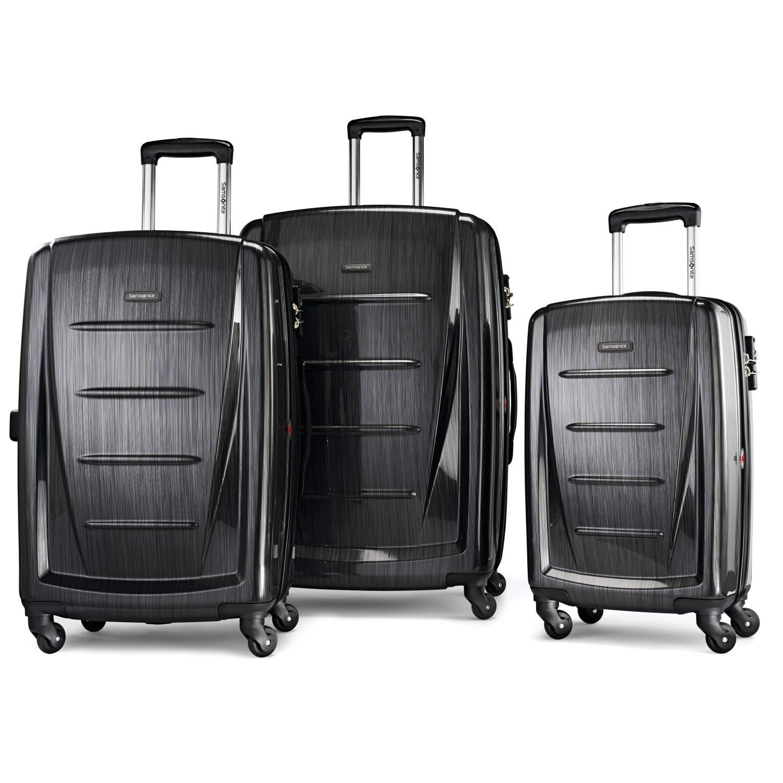 Samsonite Winfield Hardside Luggage Anthracite