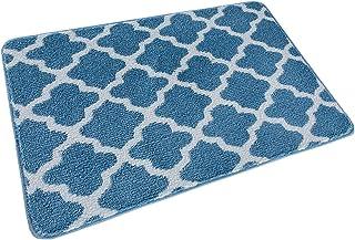 Sponsored Ad - Indoor Doormat Front Door Mat, Non-Slip Absorbent Resist Dirt Entrance Rug, Machine Washable Low-Profile In...