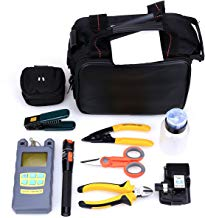 Genneric 21 In 1 Fiber Welding Fiber Tool Kit HS-30 Fiber Cleaver Power Meter Cable Tester Stripping Tool