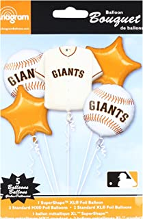 Anagram 32034 San Francisco Giants Balloon Bouquet, Multicolored
