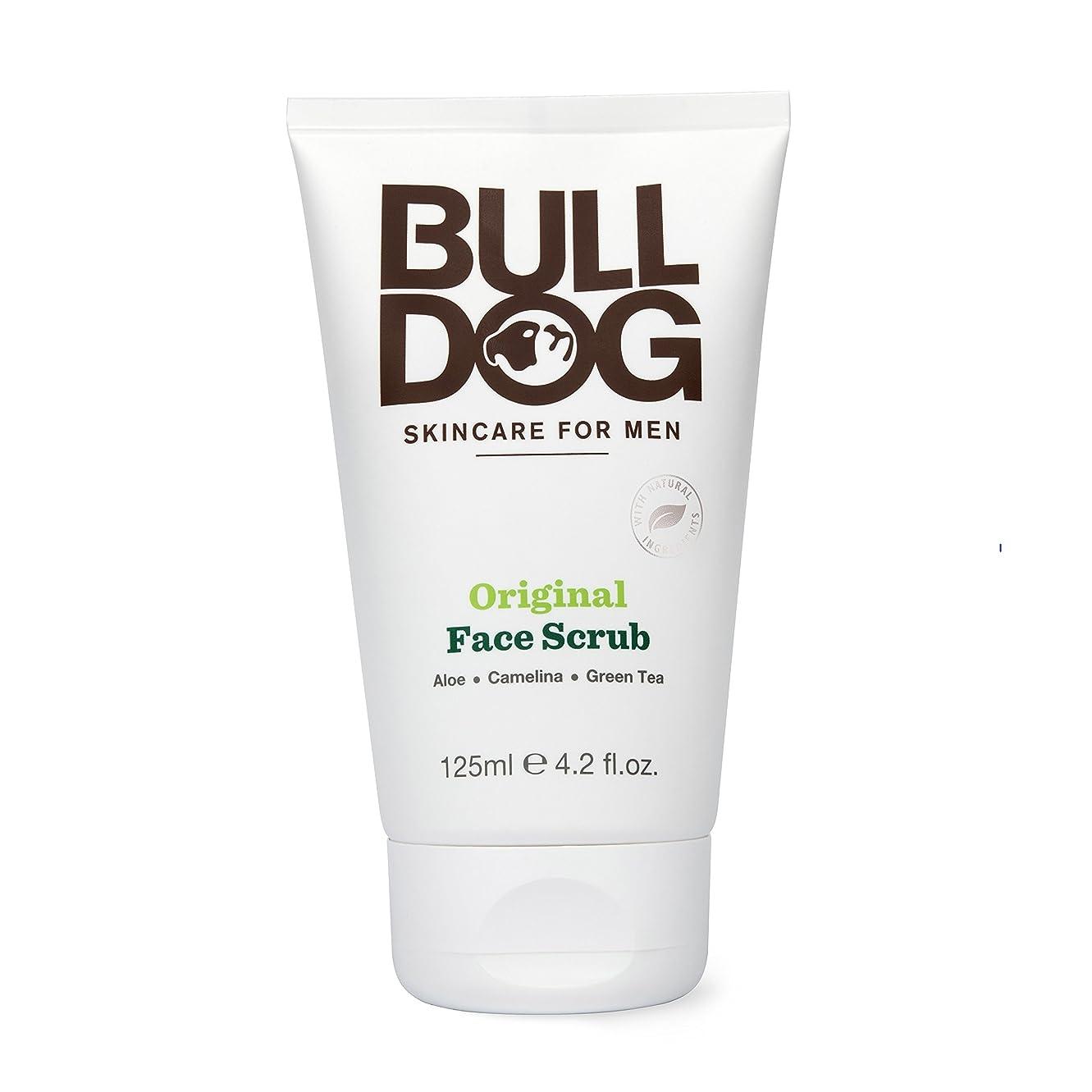 忠実に汚染マニアブルドッグ Bulldog オリジナル フェイススクラブ(洗顔料) 125mL