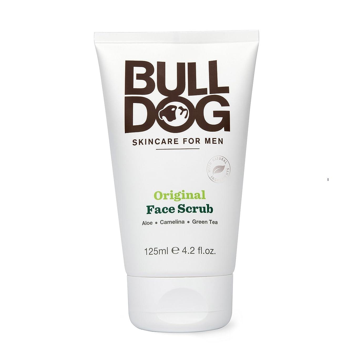 シャワー反抗レバーブルドッグ Bulldog オリジナル フェイススクラブ(洗顔料) 125mL