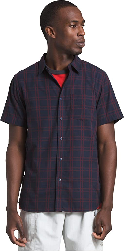Urban Navy Check Plaid