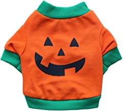 BesserBay Puppy Halloween Printed Costume Funny Tees Small Dog Cat T-Shirt