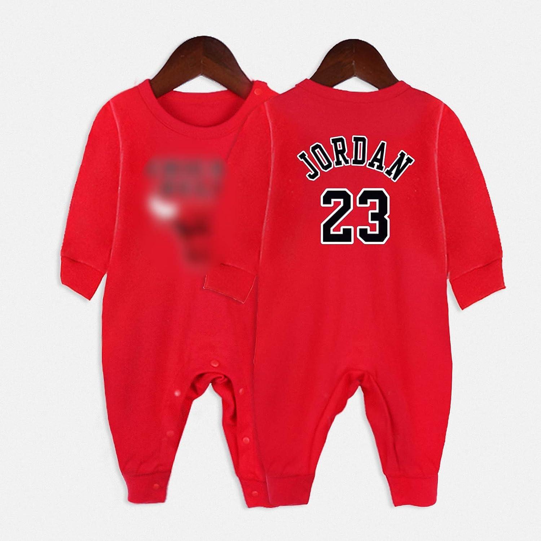 GHQYP Ropa para Bebes Ni/ño No.23 Michael Jordan Regalos Originales Ni/ños para los Reci/én Nacidos,Trajes para Bebes