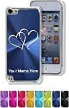 Case for iPod Touch 5th/6th Gen - Twin Hearts - Personalized Engraving Included
