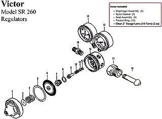 victor acetylene regulator rebuild kit