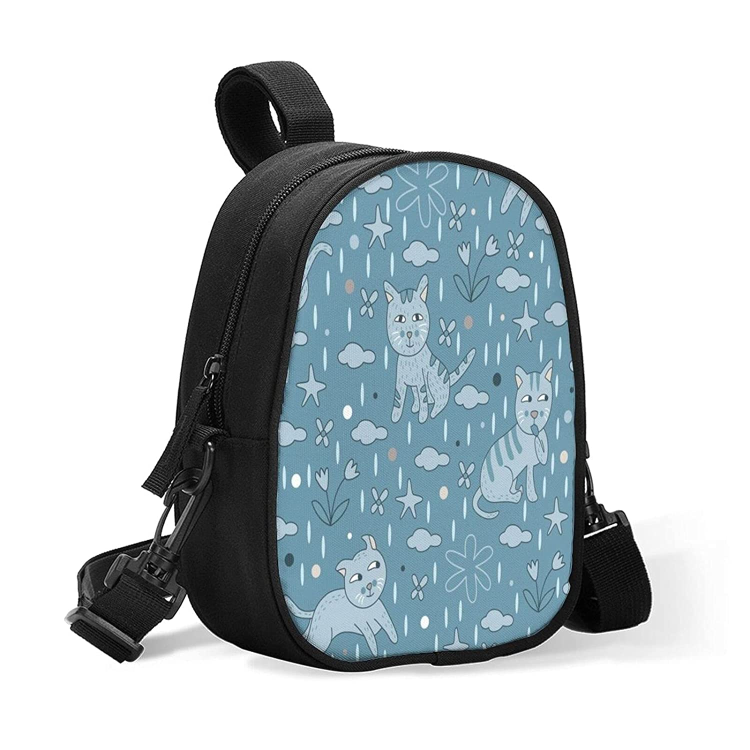 Sale item Blue Max 49% OFF Cats Insulated Baby Bottle Bag Daycare Size for Bre Upgrade
