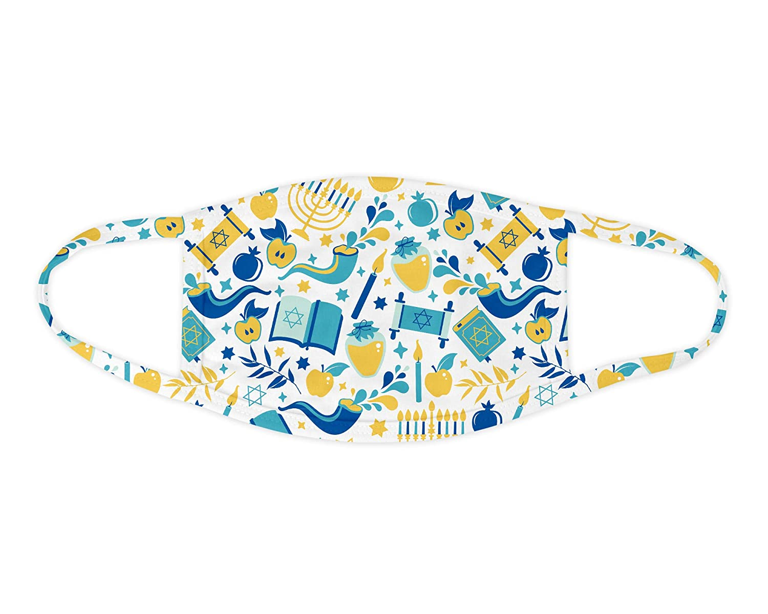Great interest Hanukkah Objects Face Louisville-Jefferson County Mall Mask Covering Washable