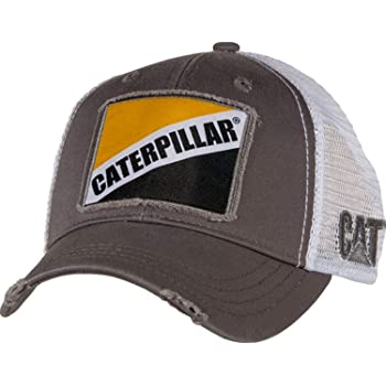 Black Caterpillar Mens New Terrain Cap OS