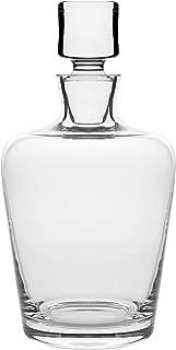 Barski - European Quality - Glass - Whiskey - Liquor - Decanter - Classic Clear - 40 oz. - 8.75