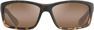 Maui Jim Sunglasses | Kanaio Coast 766 | Wrap Frame, Polarized Lenses, with Patented PolarizedPlus2 Lens Technology