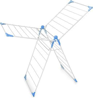 Bonita Wonderfold X-Wing Clothes Drying Stand (Blue)