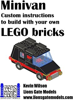 Minivan: Custom instructions to build with your own LEGO bri