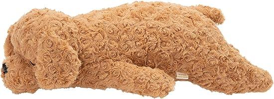 【Amazon.co.jp 限定】りぶはあと 抱き枕 ねむねむアニマルズ トイプードルのモカ Mサイズ(全長約53cm) 犬 ぬいぐるみ 85450-15