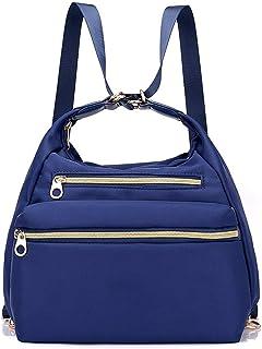 Buhui - Borsa 3 in 1, con doppia cerniera, impermeabile, alla moda, grande borsa a tracolla, per donna