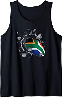 South Africa Rugby T Shirt Fans Jersey Gift 2020 Springboks Tank Top