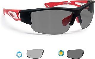 585c3b0b1a BERTONI Gafas de Sol Deportivas Polarizadas Fotocromaticas para Hombre  Mujer Deporte Ciclismo Running Esqui MTB –