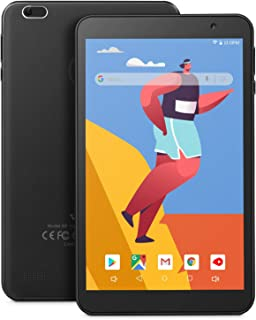 VANKYO MatrixPad S8 Tablet 8 inch, Android 9.0 Pie, 2 GB RAM, 32 GB Storage, IPS HD Display, Quad-Core Processor, Dual Camera, GPS, FM, Wi-Fi, Black