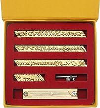 Hanchen Koper Messing Stempelen Flexibele Letters Nummers Alfabetten Symbolen Karakters Mallen CNC Graveervormen voor Hot ...