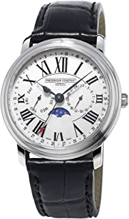 Frederique Constant Classics White Dial Leather Strap Men's Watch FC270M4P6