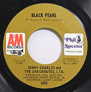 SONNY CHARLES AND THE CHECKMATES, LTD. 45 RPM Lazy Susan / Black Pearl