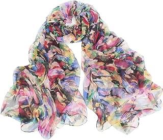 Best silk chiffon scarf Reviews
