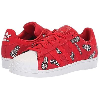 adidas Originals Superstar W (Scarlet/Scarlet/White) Women