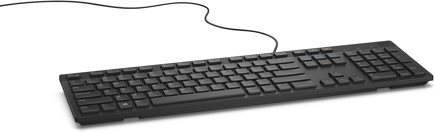 Dell Kb216 Usb Qwerty Us International Schwarz Tastatur Computer Zubehör