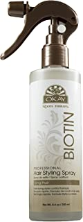 Okay Roots Therapy Biotin Professional Hair Styling Spray 250ml, 8.4 Ounce