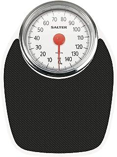 Salter Bilancia Pesapersone Meccanica, Pesa Persone Analogica, Stile Retrò, Capacità di Peso 150 kg, Precisa e di Facile L...