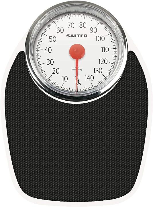 Bilancia pesapersone meccanica salter stile retrò, capacità di peso 150 kg, precisa e di facile lettura 195 WHKR