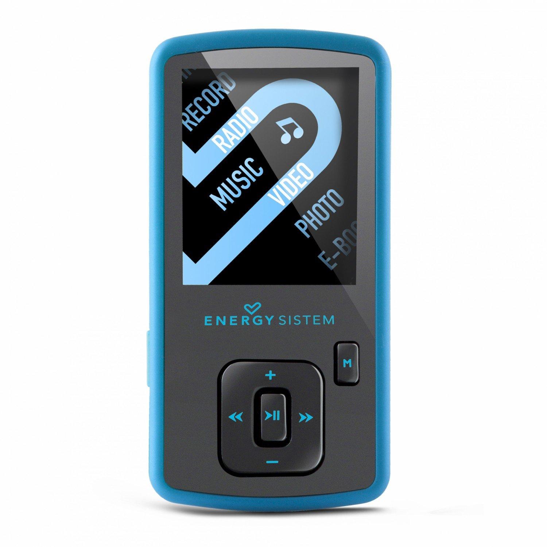 Energy Sistem Slim 3 - Reproductor MP4 de 8 GB (radio FM, micro SD ...