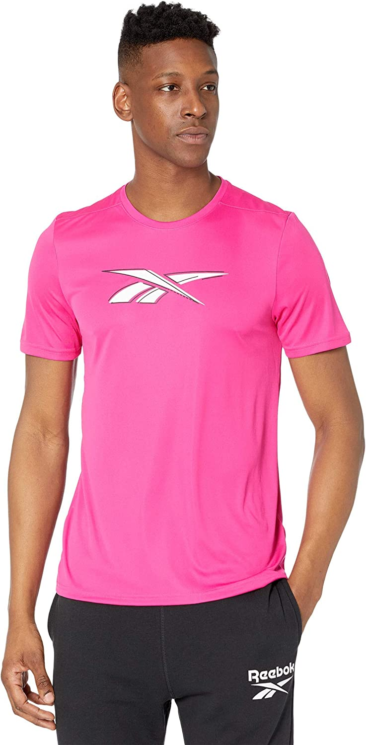 At the price of surprise Reebok Men's Workout T-Shirt Ready Fixed price for sale Graphic