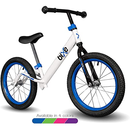 BAISHS No Pedal Kids Bike with Hand Brake for Beginner Rider Training Toddler Ba