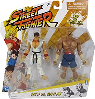 Street Fighter Classic 4 inch Ryu vs. Sagat 2 pack Action Figure
