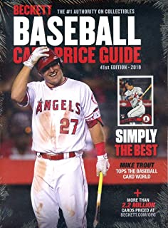 Beckett Annual Baseball Card Price Guide 2019 41st Edition Angels' Mike Trout