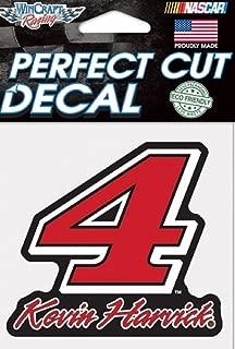 Kevin Harvick #4 Die Cut Decal 4