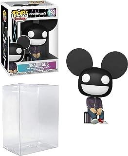 Deadmau 5 Pop #193 Pop Rocks Deadmau5 figura de vinilo (incluye funda protectora de plástico Ecotek compatible con caja protectora)
