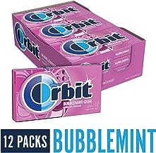 Orbit Bubblemint Sugarfree Gum, 14 pieces, (Pack of 12)