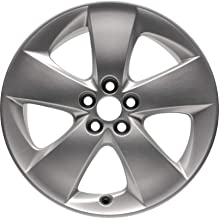 Partsynergy Replacement For New Aluminum Alloy Wheel rim 17 Inch Fits 10-15 Toyota Prius 5 Spokes 5-102mm